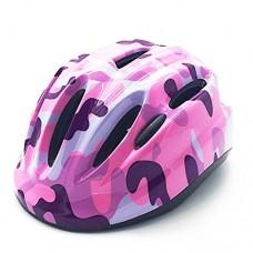 Afuraes Kids Bike Helmet Road Mountain Bike Helmet Children Multi-sport helmet for Boys/girls Camouflage Pattern Shiny - B07CZZMW3V
