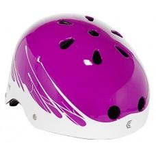 Capstone Youth Helmet  Paint drip Purple - B0741CHDZC