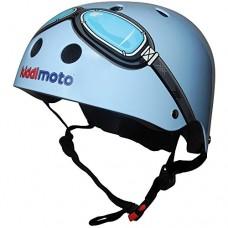 Kiddimoto Kids Helmet - Blue Goggle (Small 2-5 years) - B004IZS4L0