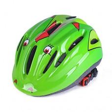 RuiyiF Kids Bike Helmet Cycling Riding Sports Helmet for kids - Green - B0725497DF