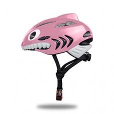 TechGo Kids Helmet 3D Shark Cartoon Kids Bike Helmets For Girls&Boys - B07G84JYF8