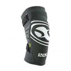 iXS Carve EVO Elbow Pad: Gray/Black Kids MD - B01D1SWMT4