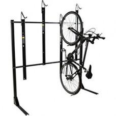 """4-Bike Vertical Bike Rack  Non-Locking  72""""W x 45""""D - B01B2OAJ6C"""