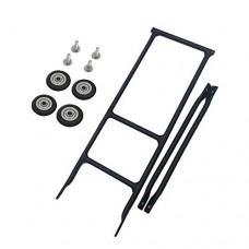 FidgetFidget Rack for Bicycle Bike racks Easy Wheel ultralight +4pcs 50mm - B07G4DCSCR