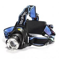 QOJA xanes xml t6 bike bicycle headlamp headlight zoomable adjustable - B07F7F5V9G