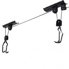 (GG) Bicycle Lift Ceiling Mounted Hoist Storage Garage Hanger Pulley Rack Bike - B07DXBQSJQ