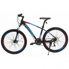"26"" Aluminum Mountain Bike Disc Brakes 21 Speeds Front Suspension Bicycle - B07DWDQZFF"