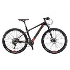 "27.5""Hardtail Carbon Frame Mountain Bike Shimano DEORE XT 22 Speed FOX Suspension Fork - B079T9DXTM"