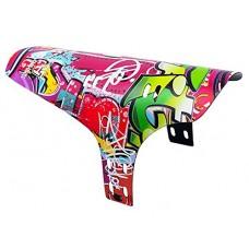 Hezzy Graffiti Cartoon Cycling Fenders for Fashion Guys - B07FSQ4YM4