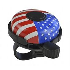 Biria Bicycle Bell Alloy American usa Flag - B004H9OU2E