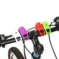 Ecosin Cycling Electric Horn Bike Bicycle Handlebar Ring Bell Life Waterproof Horn Bell (red) - B07CXRMQTX