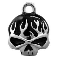 Harley-Davidson Black Flame Skull Ride Bell - B00BAT0XZ2