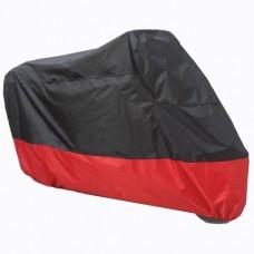 Black Red Motorcycle Cover For Honda XR650R XR 650R Bike UV Dust Protector L - B016V44X0Q