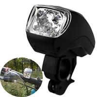Ezyoutdoor Cycling Frame Lights 5 LED Bike Handlebar Light Front Lamp 3 Modes Super Bright 300LM Bicycle Accessories - B0148GI4XG