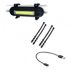 Clean Motion Atomic Hotdog Bicycle Headlight/Tail Light Set - B00OBUTHGS