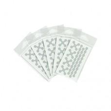 RydeSafe Modular Mini Reflective Decals (5 Pack)  White - B01JCSQYEG