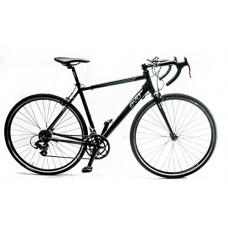 EVO Vantage 5.0 X-Large 58cm Aluminum Road Bike 700c Shimano 2x7 Speed Black NEW - B01LZYTK5Y