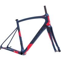 Ridley Fenix SL Disc Road Bike Frameset Dark Blue/Black/Red  XS - B07GGY2NBP