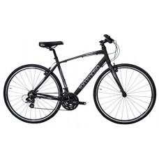 Tommaso Sorrento -Shimano Tourney Hybrid Fitness Bike  Matte Black - B077Q6LVTH