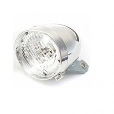 Dressffe Retro Bicycle Bike 3 LED Front Light Headlight Vintage Flashlight Lamp New - B079TN2ZMC