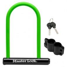 Master Lock Bike Security Key U-Lock 7 1/2 in x 9 3/4 in - B00ECGW2J0