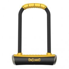 Onguard Brute LS-8000 Keyed Shackle Lock - Black  11.5x26.0 cm - B00ANRF1A4
