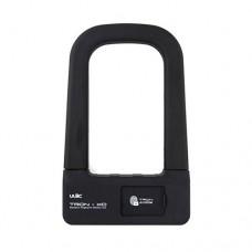 ULAC TRON-XD Fingerprint Bike U-lock  0.5 Second Unlocking Smart Biometric Shackle Lock  Security  No Password Waterproof and Anti-theft - B07FRNNKLS