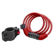 Schwinn Soft Cable Lock Red - B00AQBP0WQ