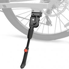 "I-BOSOM Kickstand alloy Adjustable Bicycle Kickstand Rear Side Non-Slip Bike Kick Stand 20''22''24''26''27"" Mountain Bike/Road Bike/BMX/MTB - B07DCL1BDT"