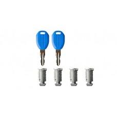 Rhino Rack RK001-4 Barrels/2 Master Keys - B01M8MQ6S8
