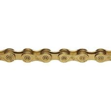 KMC X10 116L 10-Speed Bicycle Chain - Ti Gold - B002DMSOHE