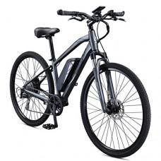 Schwinn Sycamore 350 Watt hub-drive  mountain/hybrid  electric bicycle  8 speeds  Mens size - B078XP4PXX