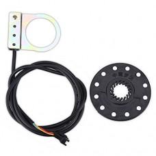 Bike Power Pedal Assist Sensor Electric Bicycle Pedal E-bike PAS System Assistant Sensor Speed Sensor 5/8/12 Magnets - B0783PPYKX
