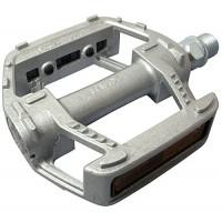 "MKS RMX Platform Pedals - 9/16""  Silver - B006EPPB7M"