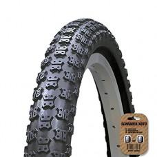 "KENDA BMX / MX Style Cycle Tire (12"" 14"" 16"" 18"" - K050 Style. 20"" - K051 Style) - Comp 3 Tread - FREE VALVE CAP UPGRADE WORTH $4.99! - B0166U241K"