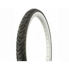 """Tire Duro 26"""" x 2.125"""" Black/White Side Wall DB-1012. Bicycle tire  bike tire  beach cruiser bike tire  cruiser bike tire  chopper bike tire  trike tire  tricycle tire - B00HZ6IQGW"""