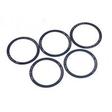 FSA 0.25mm Micro Headset Spacers - 1-1/8 inch diameter - Multi-Packs - B07BZY1TQH