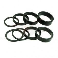 Wheels Manufacturing 1-1/8-Inch Spacer (Black/7.5mm  Bag of 5) - B003Z7VEA0