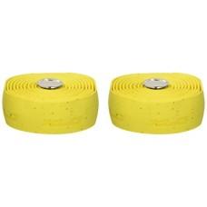 XLC Bar Tape GR-T01 (Design: gel  cork-style  yellow SB-plus) - B000NUBN6M