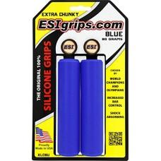 ESI 34mm Extra Chunky Silicone Grips: Blue - B072HJVH4Q