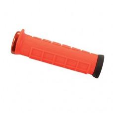 ODI Elite Pro Lock-On Grips Orange with Orange Clamps - B06XGT5XBJ