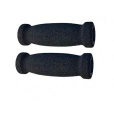 "SB Distribution Ltd. SBDs (PAIR of 1) Cycle Handle BAR GRIPS - Soft Foam - THICK | 5""L. Fits 3/4"" to 7/8"" Tube/Rod | Soft and comfort grip feeling  anti-slip design. - B07C4TXL63"