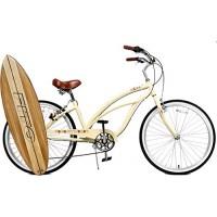 "Anti-Rust Aluminum frame  Fito Marina Alloy 7-speed - Vanilla  women's 26"" Shimano Equipped Beach Cruiser Bike Bicycle - B00W8XZLQK"