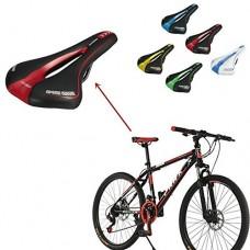 Professional Road MTB Gel Comfortable Saddle Bicycle Seat Cycling Cushion Pad ( Blue ) - B0752472BW