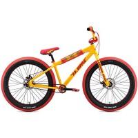 """SE Bikes Fat Ripper 26"""" Yellow BMX Bike 2019 - B07C5Z1KT8"""