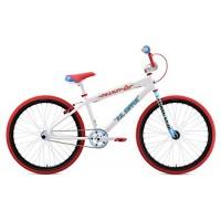 """SE Bikes Mike Buff PK Ripper Looptail 26"""" White BMX Bike 2019 - B07CCGTZ9M"""