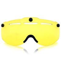 Anharluka Road/Mountain Bike Helmet with Detachable Magnetic Shield Visor (Goggle)  for Multi-sport - B077DZVWSN