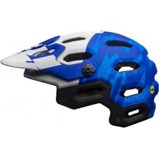 Bell Super 3 MIPS Cycling Helmet - Matte Force Blue/White B2B Medium - B01M1EDEV1