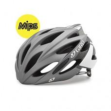 Giro Savant MIPS Helmet (Matte Titanium/White  Medium (55-59 cm)) - B0169GWC3Q
